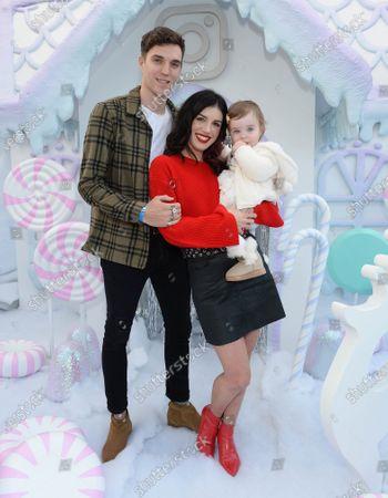 Shenae Grimes, husband Josh Beech and daughter Bowie Scarlett Beech