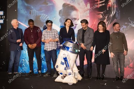 Editorial photo of 'Star Wars: The Rise of Skywalker' press conference, Tokyo, Japan - 12 Dec 2019
