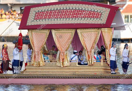 Editorial photo of Royal barge procession to mark the conclusion of King Rama X coronation in Thailand, Bangkok - 12 Dec 2019