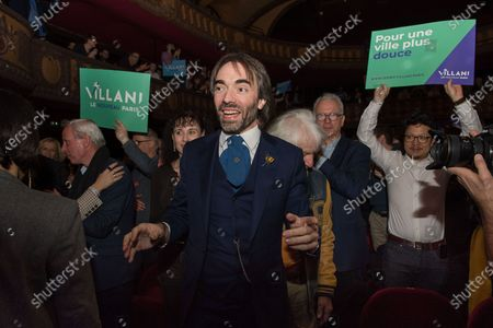 Cedric Villani campaign meeting, at the Trianon in Paris. Villani is En Marche! candidate for the Paris City Hall at the next municipal elections in 2020.