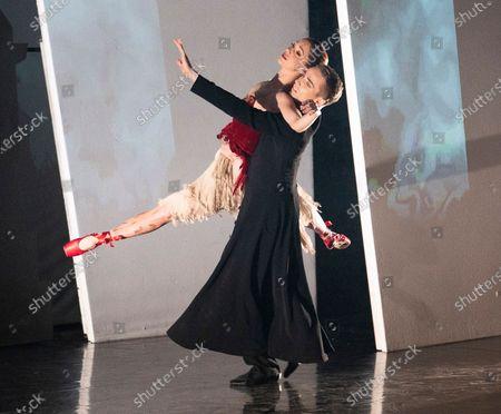 Ashley Shaw as Victoria Page, Liam Mower as Ivan Boleslawsky