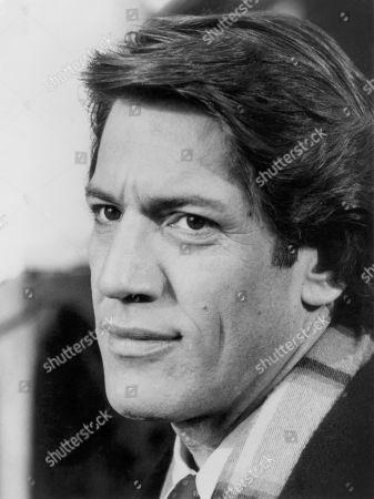Actor Stephen Macht, Head and Shoulders Publicity Portrait, 1981