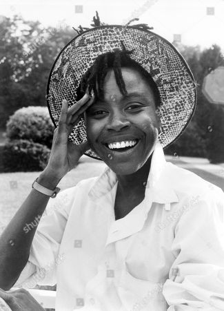 Stock Image of Danitra Vance, Publicity Portrait for the Film, 'Sticky Fingers', Spectra Films, 1988