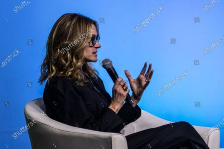 US actress Julia Roberts speaks at an Obama Foundation event in Kuala Lumpur, Malaysia, 12 December 2019.
