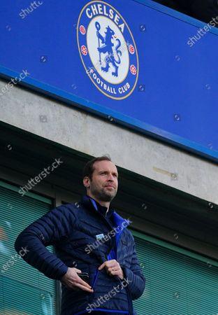 Former Chelsea goalkeeper Petr Cech