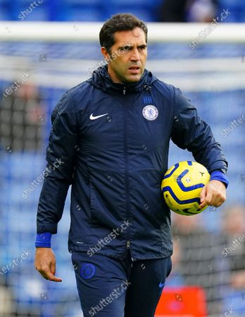 Former Chelsea goalkeeper Henrique Hilario, now on the coaching staff