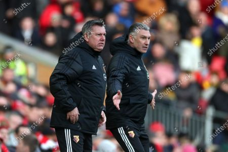 Reaction from Watford manager Nigel Pearson and assistant Craig Shakespeare