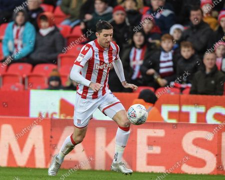 Stock Picture of 14th December 2019, Bet365 Stadium, Stoke-on-Trent, England; Sky Bet Championship, Stoke City v Reading : Stephen Ward (3) of Stoke City in action during the game
