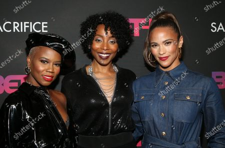 Stock Picture of V. Bozeman, Erica Ash, Paula Patton