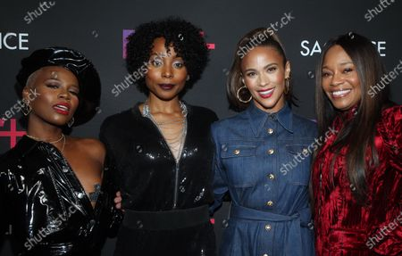 Stock Image of V. Bozeman, Erica Ash, Paula Patton, Connie Orlando