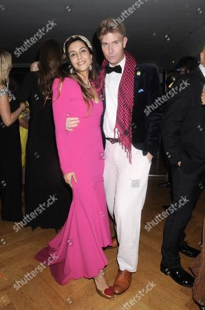 Editorial photo of Christabel Milbanke's Absolutely Fabulous Black Tie Party, London, UK - 11 Dec 2019