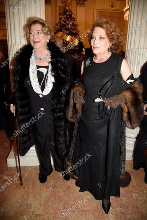 Diana Bracco and Raffaella Curiel