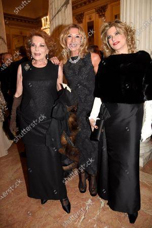 Gigliola Cinquetti, Raffaella Curiel and Melania De Nichilo Rizzoli