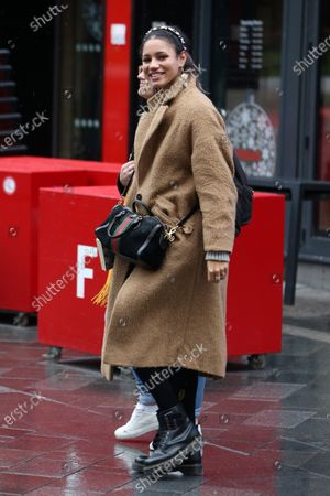 Editorial picture of Vick Hope out and about, London, UK - 12 Dec 2019