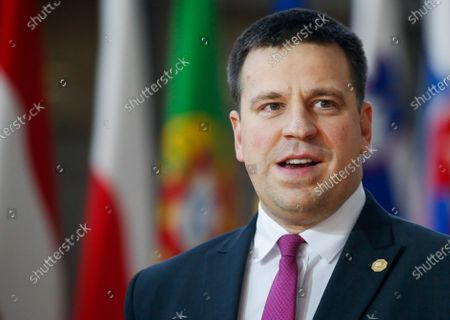 Estonia Prime Minister Juri Ratas arrives for a European Council summit in Brussels, Belgium, 12 December 2019. An European Council meeting will be held in Brussels on 12 and 13 December during which the EU27 leaders among other topics will discuss the Brexit and preparations for the negotiations on future EU-UK relations after the withdrawal as well as a revision of the European Stability Mechanism (ESM) Treaty.