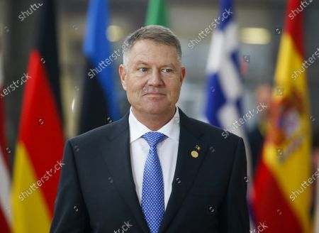 President of Romania Klaus Werner Iohannis arrives for a European Council summit in Brussels, Belgium, 12 December 2019. An European Council meeting will be held in Brussels on 12 and 13 December during which the EU27 leaders among other topics will discuss the Brexit and preparations for the negotiations on future EU-UK relations after the withdrawal as well as a revision of the European Stability Mechanism (ESM) Treaty.