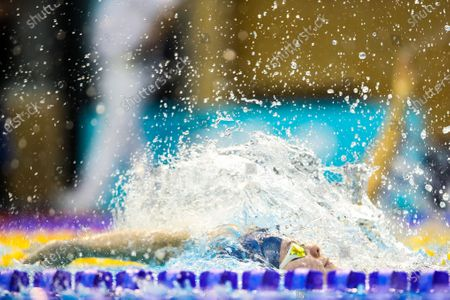 Women's 100m Backstroke Heats . Rebecca Lowe