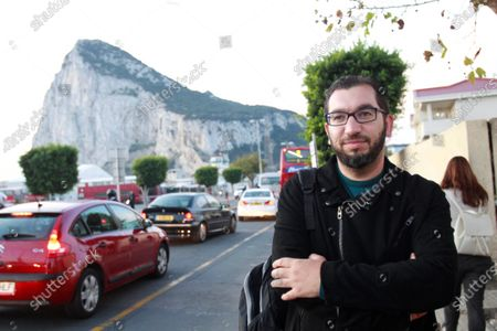 Stock Photo of Spaniard Jorge Gutierrez, a man who lives in Spain and works in Gibraltar, poses for the photographer in Gibraltar, 05 November 2019 (issued on 12 December 2019). More than 15,200 workers, 9,803 of them being Spaniards, cross the border crossing between Spain and Gibraltar, the smallest frontier of Brexit', daily. They, and some 32,000 Gibraltar residents, wonder frequently how the Brexit will affect them and hope that the situation finally does not change too much when the UK leaves EU.
