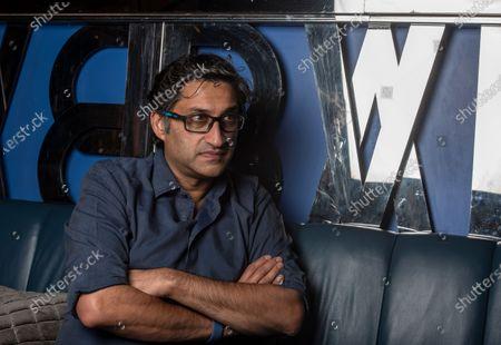 Stock Photo of British filmmaker Asif Kapadia