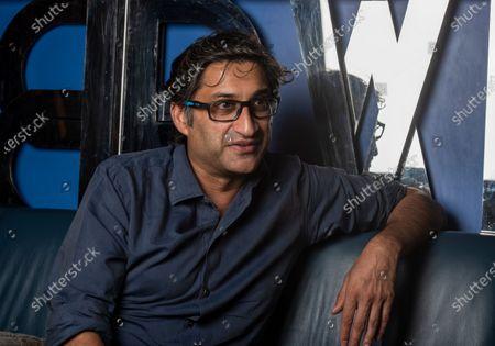 Stock Image of British filmmaker Asif Kapadia