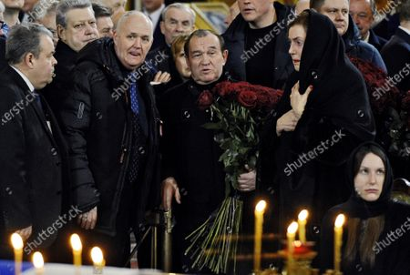 Editorial image of Funeral of former Mayor of Moscow Yury Luzhkov, Mosow, Russia - 12 Dec 2019