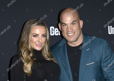 Stock Photo of Amber Nichole Miller, Tito Ortiz
