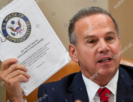 Rep. David Cicilline, D- R.I., speaks during a House Judiciary Committee markup of Articles of Impeachment against President Donald Trump, on Capitol Hill in Washington