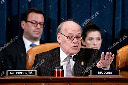 Rep. Steve Cohen, D-Tenn., speaks during a House Judiciary Committee markup of the articles of impeachment against President Donald Trump, on Capitol Hill in Washington