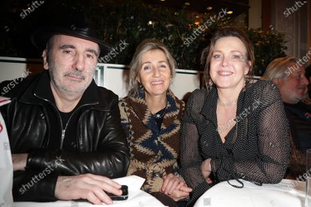 Stock Image of Philippe Harel, Sylvie Bourgeois and Agnes Soral