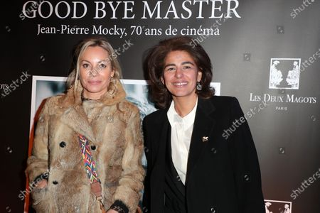Charlotte Bouteloup and Sarah Doraghi