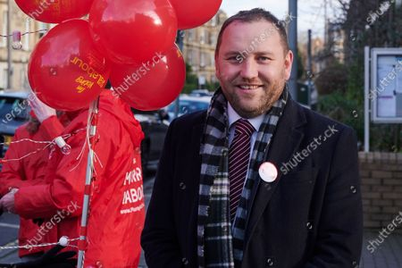 Morningside South Labour MP, Ian Murray campaigning on Election day in Morningside.