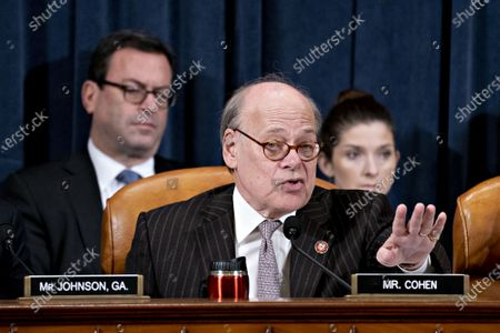 Representative Steve Cohen, a Democrat from Tennessee, speaks during a House Judiciary Committee hearing in Washington, D.C., U.S., 12 December 2019. The Judiciary Committee is set to finish debating articles of impeachment against President Donald Trump today with a likely party-line vote to send the resolution to the floor of the House.