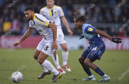 Editorial image of Wycombe Wanderers v Burton Albion, EFL Sky Bet League One, Football, Adams Park, UK - 14 Dec 2019