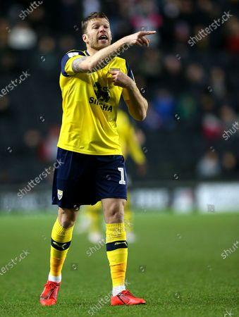 Jamie Mackie of Oxford United