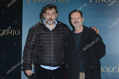 Massimo Ceccherini and Rocco Papaleo