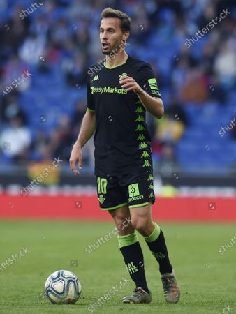 Sergio Canales of Real Betis