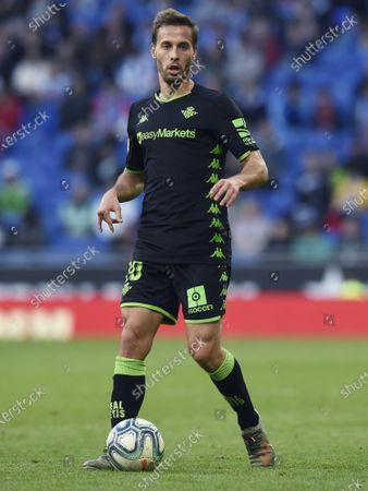 Stock Image of Sergio Canales of Real Betis