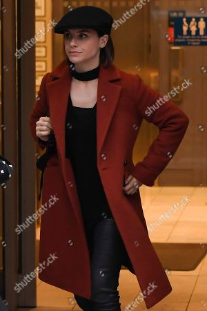 Editorial picture of Charlotte Riley at BBC Radio 2 Studios, London, UK - 12 Dec 2019