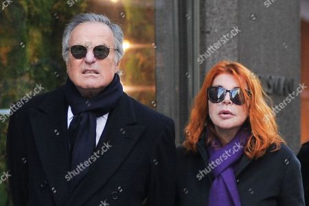 Editorial image of Giuliano Adreani and Cicci Adreani out and about, Milan, Italy - 12 Dec 2019