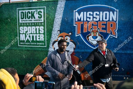 Editorial image of Frosted Flakes Mission Tiger Event, El Paso, USA - 12 Dec 2019