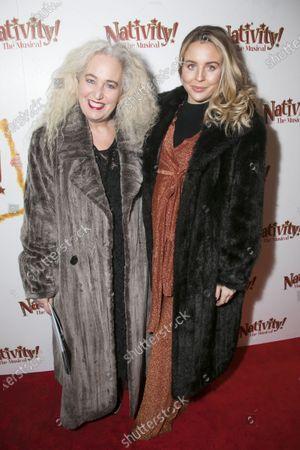Debbie Douglas and Lydia Bright