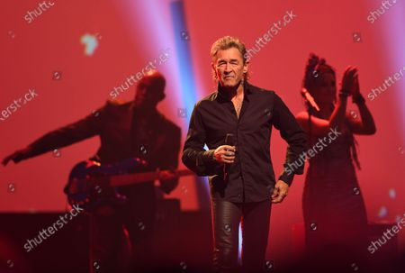 Peter Maffay performs during the Jose Carreras Gala Christmas concert in Leipzig, Germany, 12 December 2019. The 25th Jose Carreras Gala is one of the most successful charity events in German television and raises funds for the Spanish tenor's leukemia foundation.