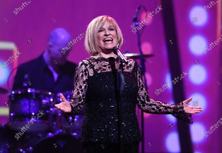 Mary Roos performs on stage during the Jose Carreras Gala Christmas concert in Leipzig, Germany, 12 December 2019. The 25th Jose Carreras Gala is one of the most successful charity events in German television and raises funds for the Spanish tenor's leukemia foundation.