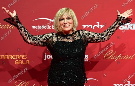 Mary Roos arrives for the Jose Carreras Gala Christmas concert in Leipzig, Germany, 12 December 2019. The 25th Jose Carreras Gala is one of the most successful charity events in German television and raises funds for the Spanish tenor's leukemia foundation.