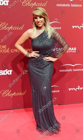 Annemarie Eilfeld arrives for the Jose Carreras Gala Christmas concert in Leipzig, Germany, 12 December 2019. The 25th Jose Carreras Gala is one of the most successful charity events in German television and raises funds for the Spanish tenor's leukemia foundation.