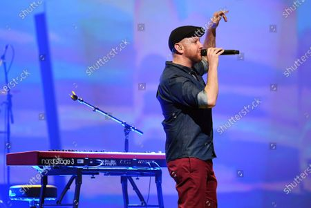 Matt Simons performs on stage during for the Jose Carreras Gala Christmas concert in Leipzig, Germany, 12 December 2019. The 25th Jose Carreras Gala is one of the most successful charity events in German television and raises funds for the Spanish tenor's leukemia foundation.