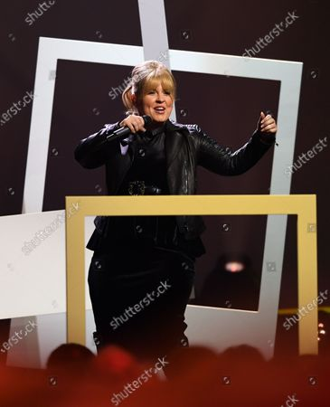 Musical artist Maite Kelly performs on stage during the Jose Carreras Gala Christmas concert in Leipzig, Germany, 12 December 2019. The 25th Jose Carreras Gala is one of the most successful charity events in German television and raises funds for the Spanish tenor's leukemia foundation.