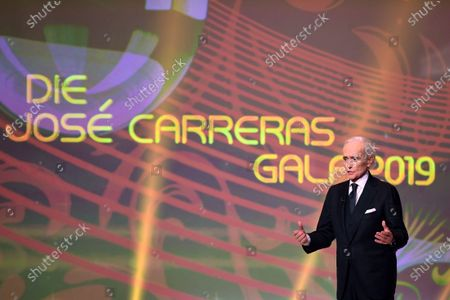 Spanish tenor Jose Carreras performs on stage during the Jose Carreras Gala Christmas concert in Leipzig, Germany, 12 December 2019. The 25th Jose Carreras Gala is one of the most successful charity events in German television and raises funds for the Spanish tenor's leukemia foundation.