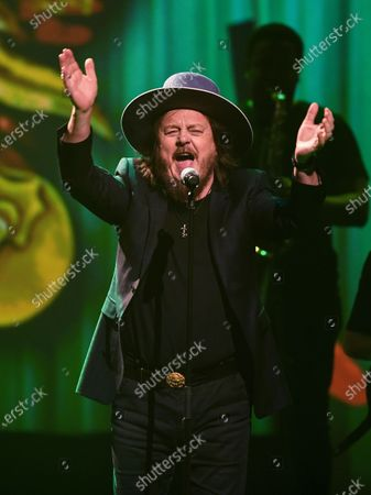 Zucchero performs on stage during the Jose Carreras Gala Christmas concert in Leipzig, Germany, 12 December 2019. The 25th Jose Carreras Gala is one of the most successful charity events in German television and raises funds for the Spanish tenor's leukemia foundation.