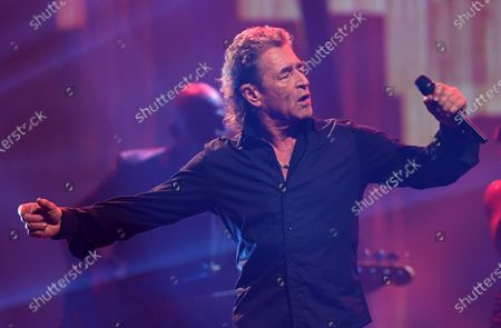 Peter Maffay performs on stage during the Jose Carreras Gala Christmas concert in Leipzig, Germany, 12 December 2019. The 25th Jose Carreras Gala is one of the most successful charity events in German television and raises funds for the Spanish tenor's leukemia foundation.